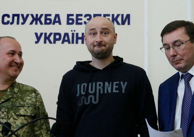 Novinář Arkadij Babčenko
