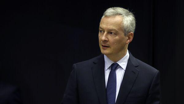 francouzský ministr hospodářství Bruno Le Mair - Sputnik Česká republika