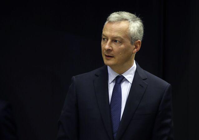 francouzský ministr hospodářství Bruno Le Mair