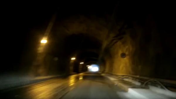 Nejděsivější tunel na světě - Sputnik Česká republika