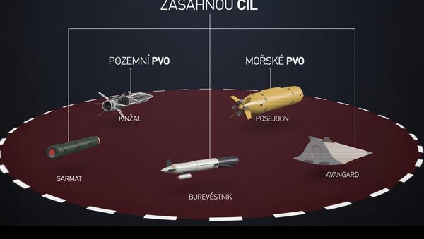 """Děsivé a """"nezachytitelné"""" rakety. Rusko obnovilo jadernou paritu - Sputnik Česká republika"""
