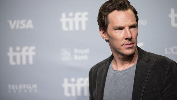 Britský herec Benedict Cumberbatch - Sputnik Česká republika