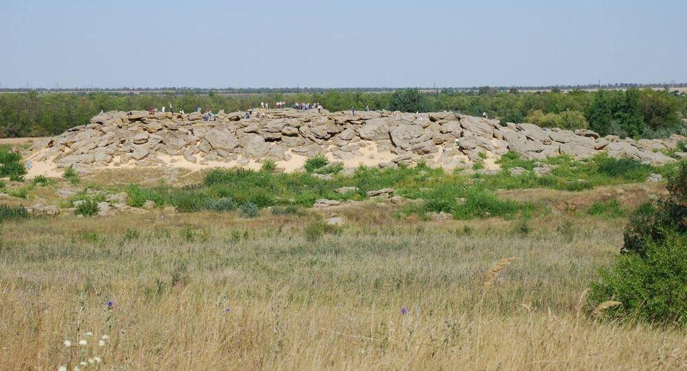 masív Kamenná mohyla, Ukrajina