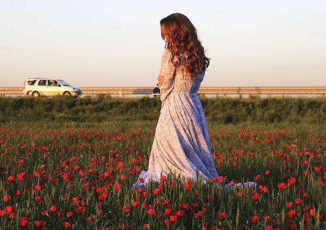 Ohnivá krása kazašských polí