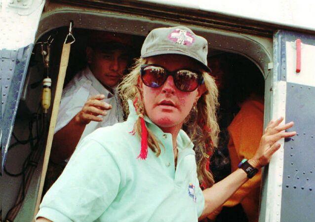 Horolezkyně a lyžařská instruktorka Charlotte Foxová