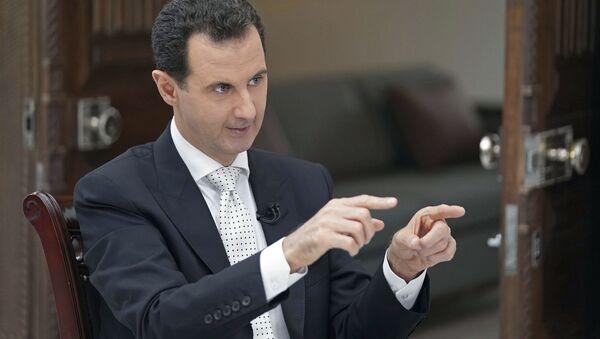 Syrský prezident Bašár Asad - Sputnik Česká republika
