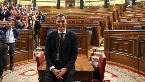 Španělský premiér Pedro Sánchez - Sputnik Česká republika
