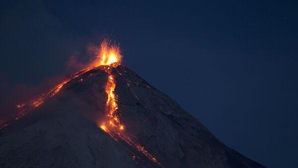 Sopka de Fuego - Sputnik Česká republika
