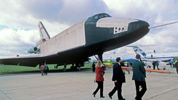 Buran space shuttle - Sputnik Česká republika