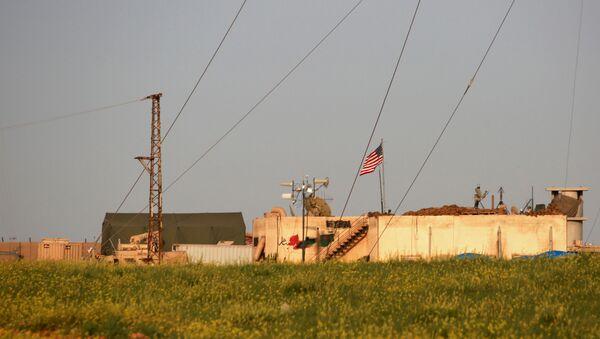 Základna USA v Manbidži - Sputnik Česká republika