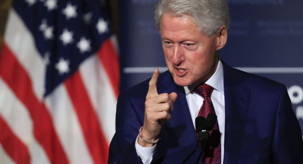 Bývalý americký prezident Bill Clinton