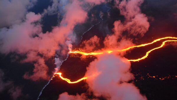 Erupce sopky Kilauea - Sputnik Česká republika