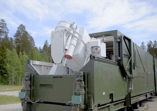 Ruský bojový laser Peresvet