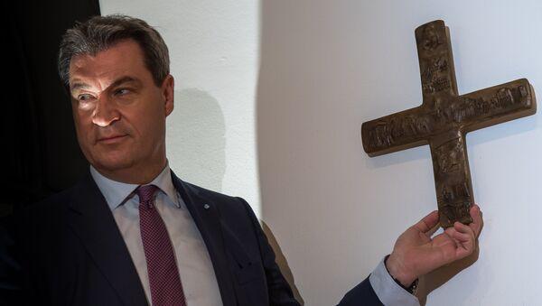 Premiér Bavorska Markus Söder - Sputnik Česká republika