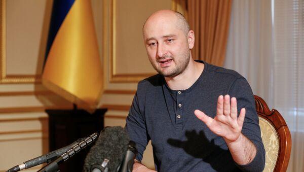 Ruský novinář Arkadij Babčenko v Kyjevě - Sputnik Česká republika