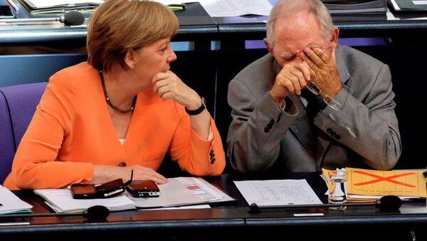 Angela Merkelová a Wolfgang Schäuble - Sputnik Česká republika