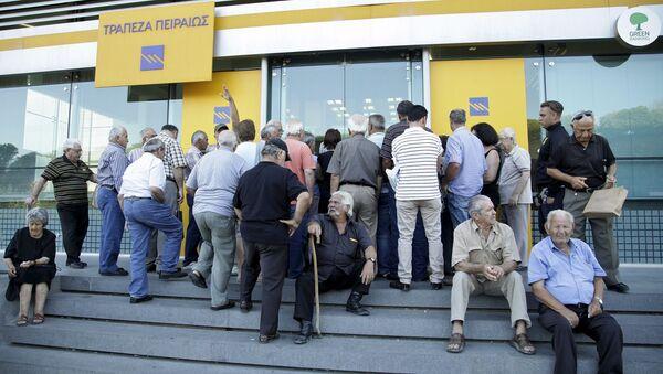 Řecká banka - Sputnik Česká republika