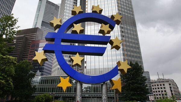 Budova Evropské centrální banky - Sputnik Česká republika