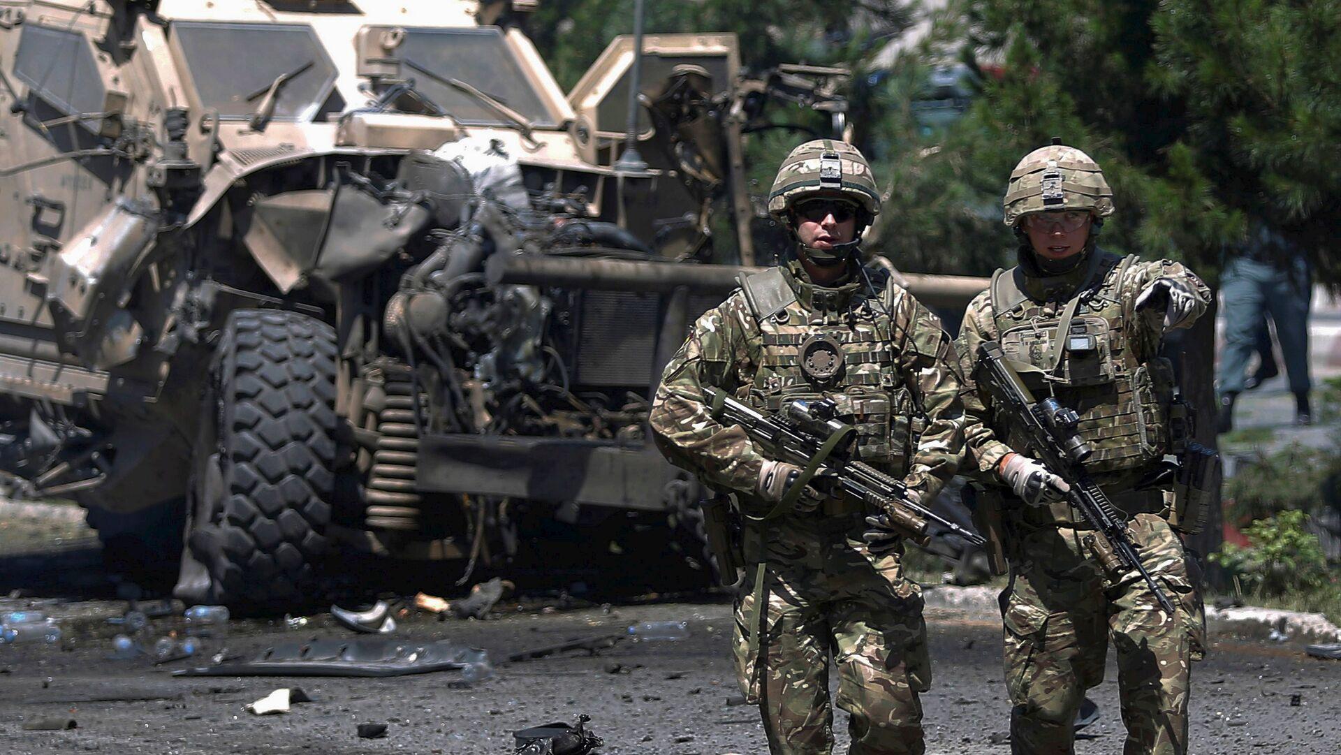 Vojáci NATO v Afghánistánu - Sputnik Česká republika, 1920, 14.04.2021