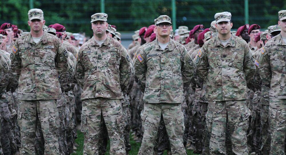 Američtí vojáci na Ukrajině
