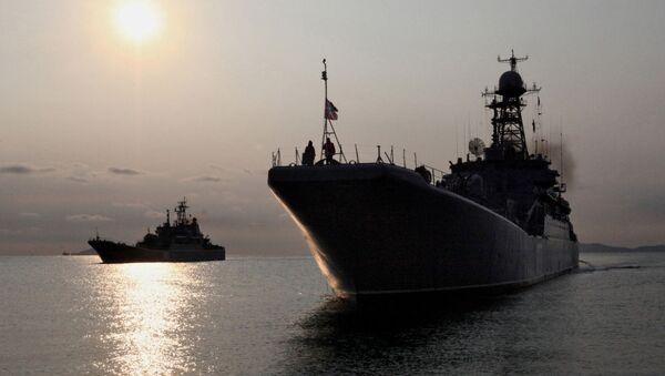 Ruské válečné lodě - Sputnik Česká republika