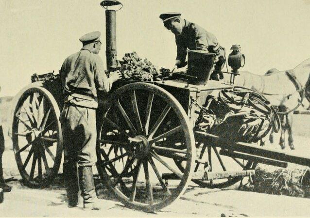 Polní kuchyně Ruské armády, 1914