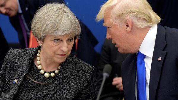 Trump a Mayová - Sputnik Česká republika
