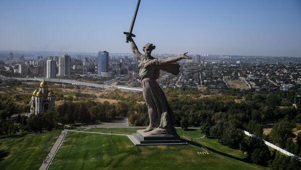 Výhled na Volgograd - Sputnik Česká republika