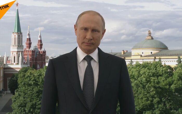 Vítám vás v Rusku. Putin se obrátil na hosty MS 2018