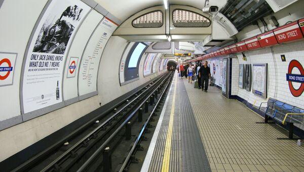 Londýnské metro - Sputnik Česká republika