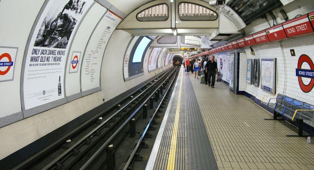 stanice metra Bond Street v Londýně