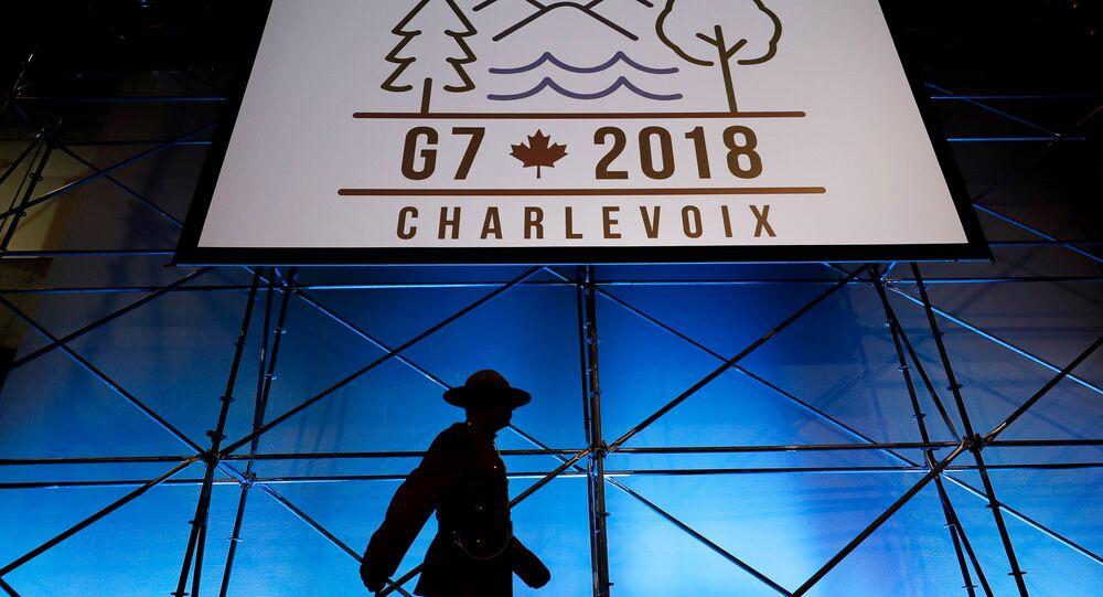 Logo summitu G7