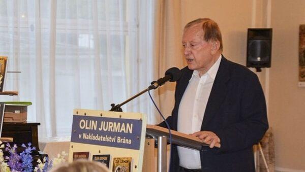 Český spisovatel a publicista Olin Jurman - Sputnik Česká republika