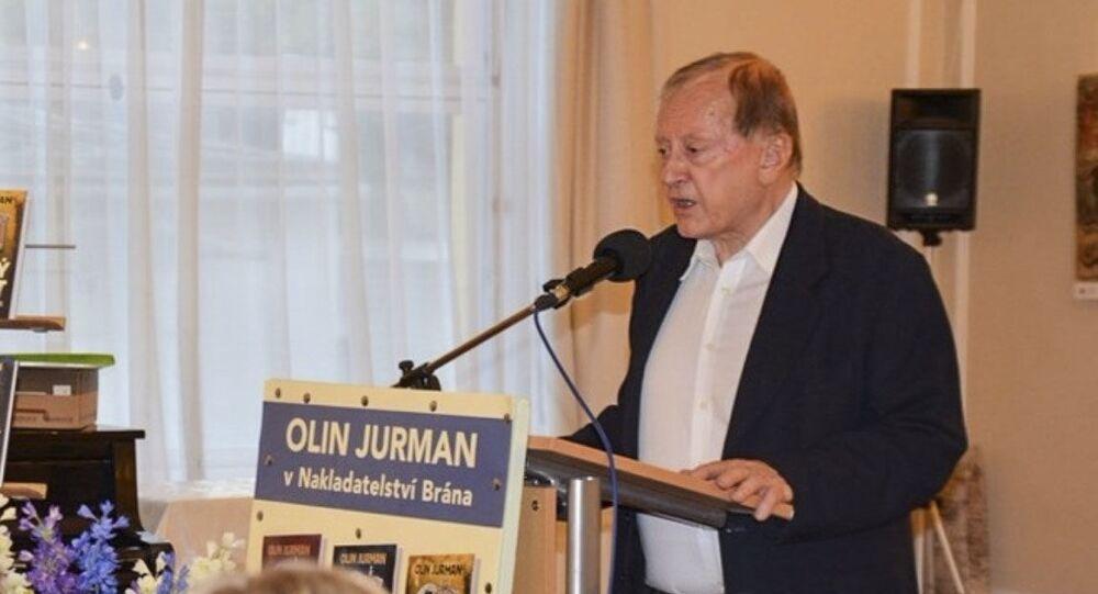 Český spisovatel a publicista Olin Jurman