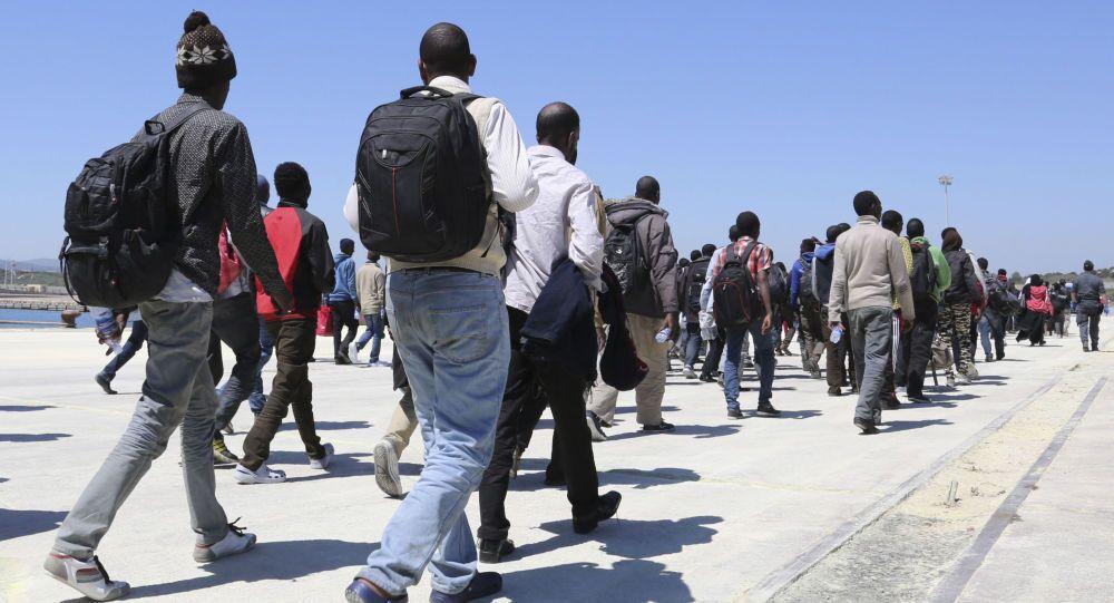 Migranti na Sicílii
