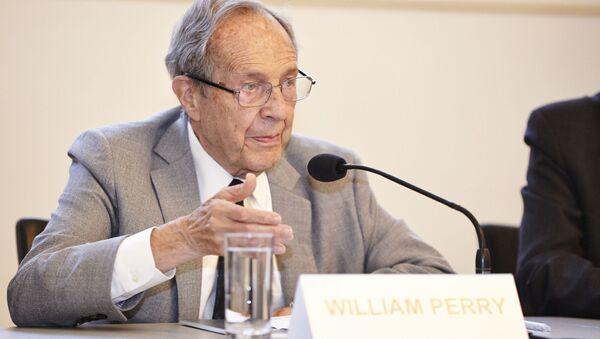 Exministr obrany USA William Perry - Sputnik Česká republika
