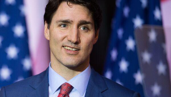 Justin Trudeau - Sputnik Česká republika