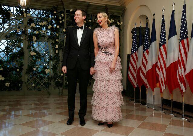 Jared Kushner a Ivanka Trumpová