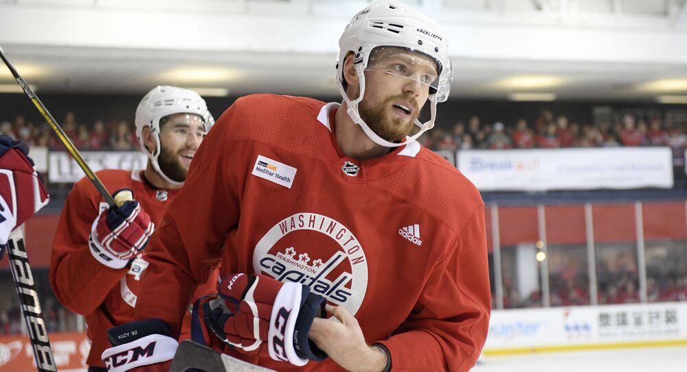 Hokejista Jevgenij Kuzněcov