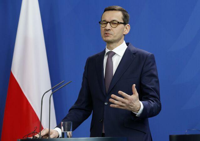 Polský premiér Mateusz Morawiecki