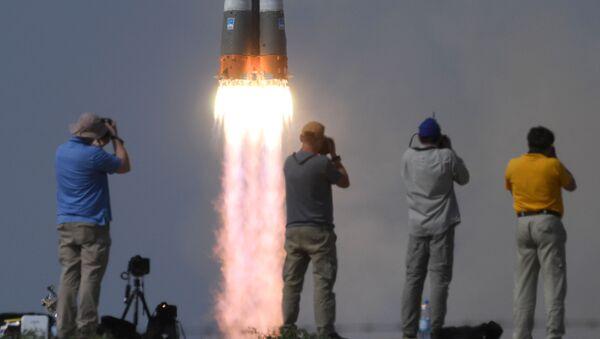 Start rakety Sojuz MS 09 - Sputnik Česká republika