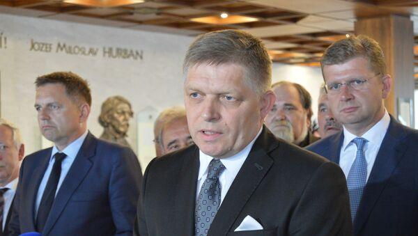 Bývalý slovenský premiér Robert Fico - Sputnik Česká republika