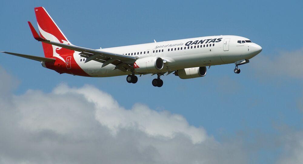Letadlo společnosti Quantas