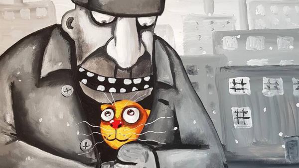 Karikatura malíře Vasi Ložkina - Sputnik Česká republika