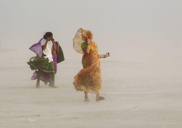 Anomální horko v Indii