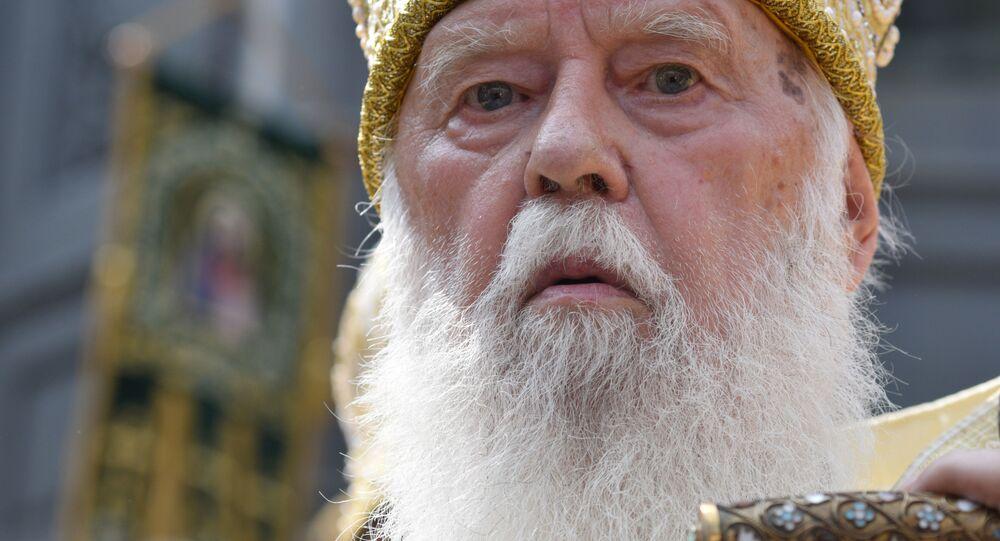Patriarcha ukrajinské pravoslavné církve Kyjevského patriarchátu (UPC KP) Filaret