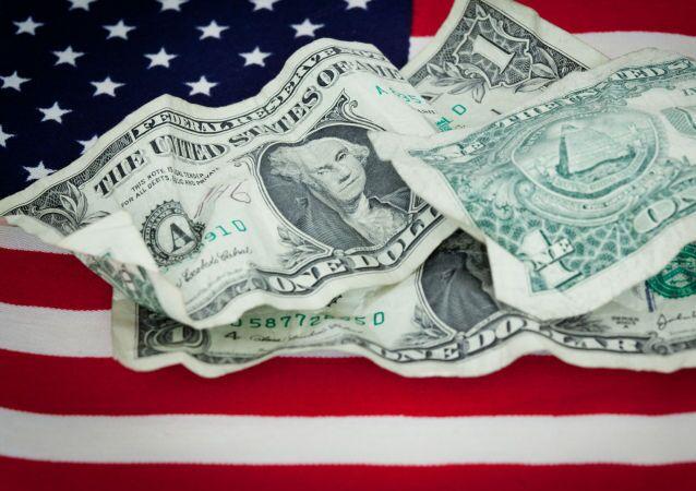 Americké dolary na vlajce