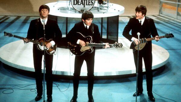 The Beatles během vystoupení v New Yorku - Sputnik Česká republika