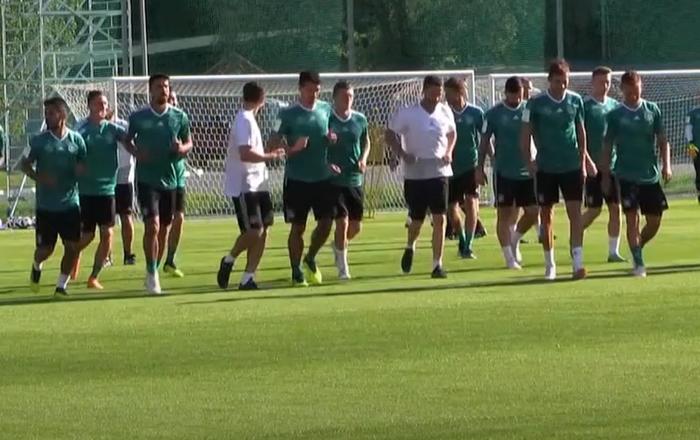 Němečtí fotbalisté se připravují na svůj první zápas na MS 2018