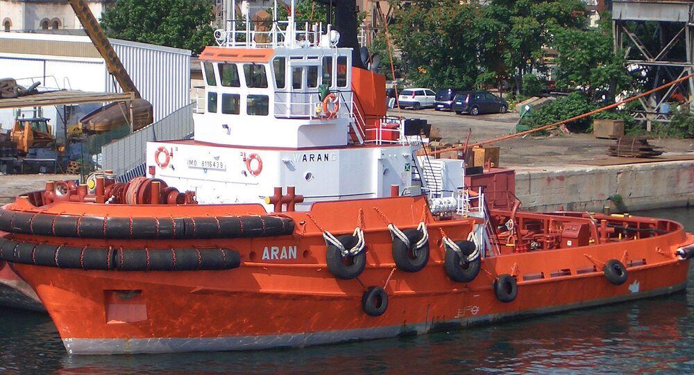 Vlečná loď Aran. Ilustrační foto